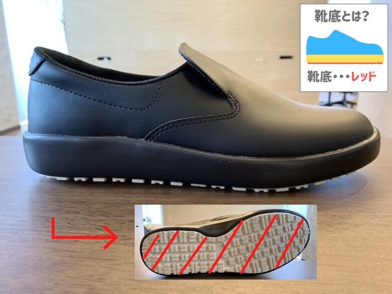 ハイグリップH-700Nの靴底