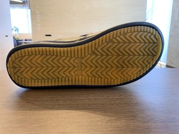 ハイパーVソールは、コックシューズの滑りにくいレベルを一気に押し上げた製品