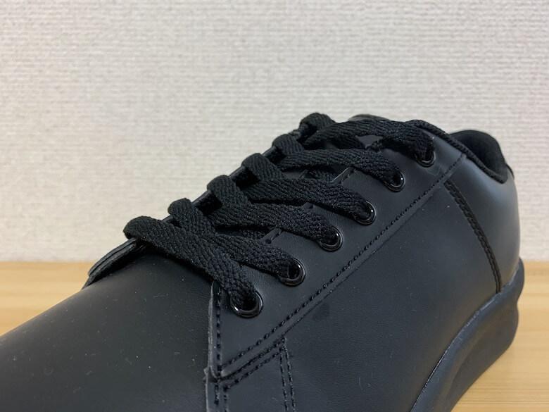 靴紐タイプのコックシューズ