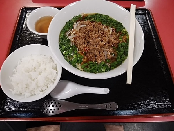 1回目の台湾ラーメン