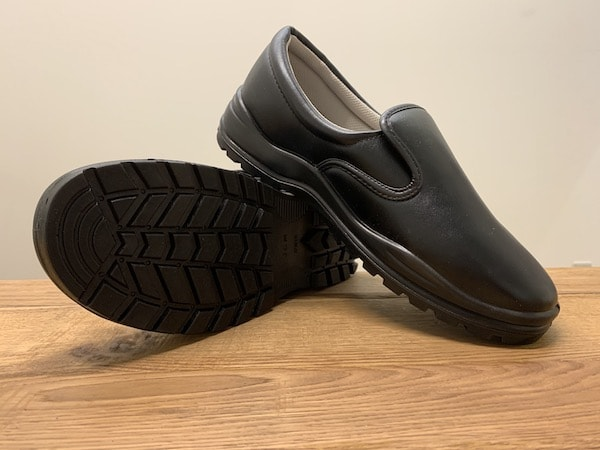 JCMコックシューズはクッションと靴底が同じ素材