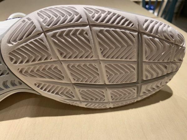 アディダスの靴底のアップした画像です。