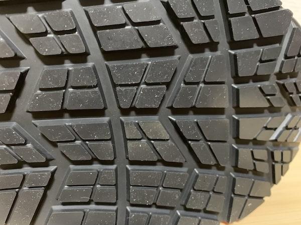 ウィンジョブの靴底はすり減りにくい