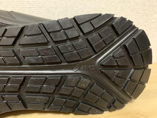 ウィンジョブ®︎の踵部分の靴底アップ