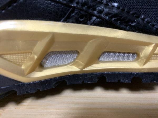 ウィンジョブCP305ACは通気口に蓋があり異物が入らない