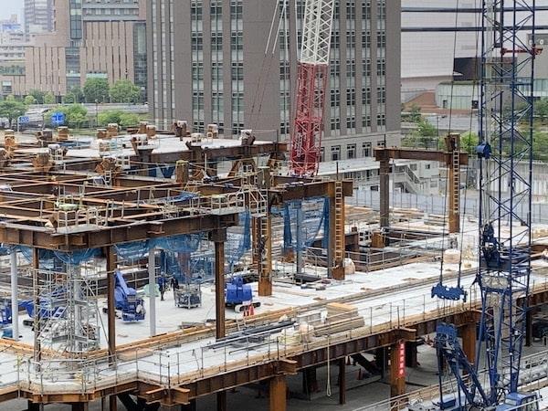 工事現場の画像で建設しています。