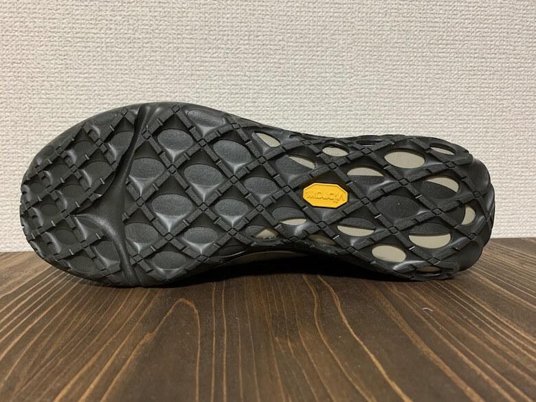 ジャングルモック2.0は滑りにくい靴底