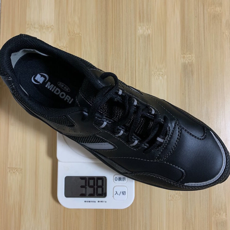 ワークプラスSL603P-5の重量は398g