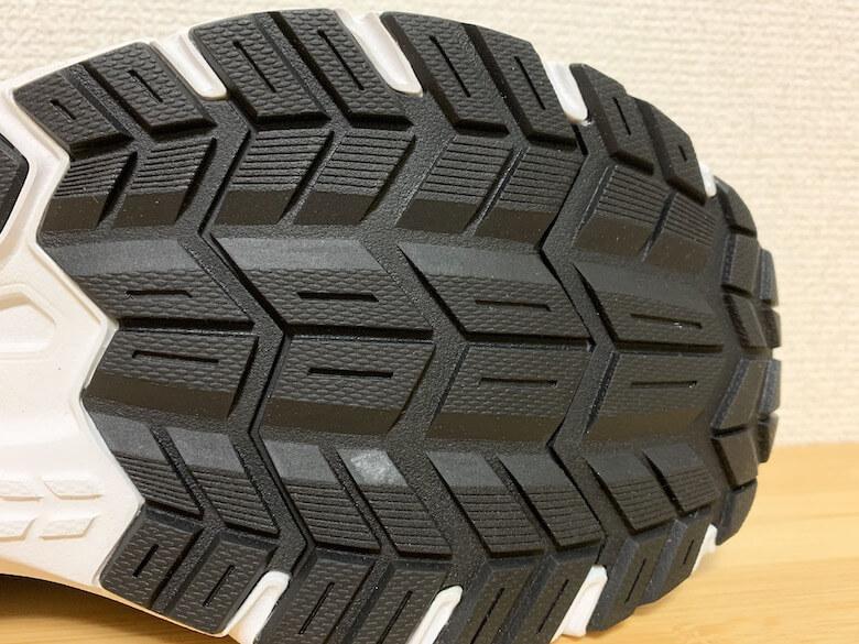 スポルディングの安全靴JIN3680の靴底