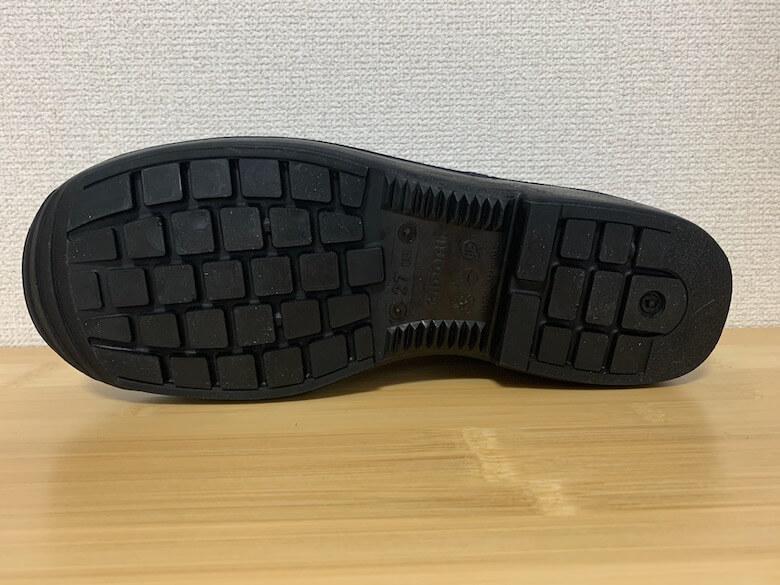 ラバーテックRTU210の靴底