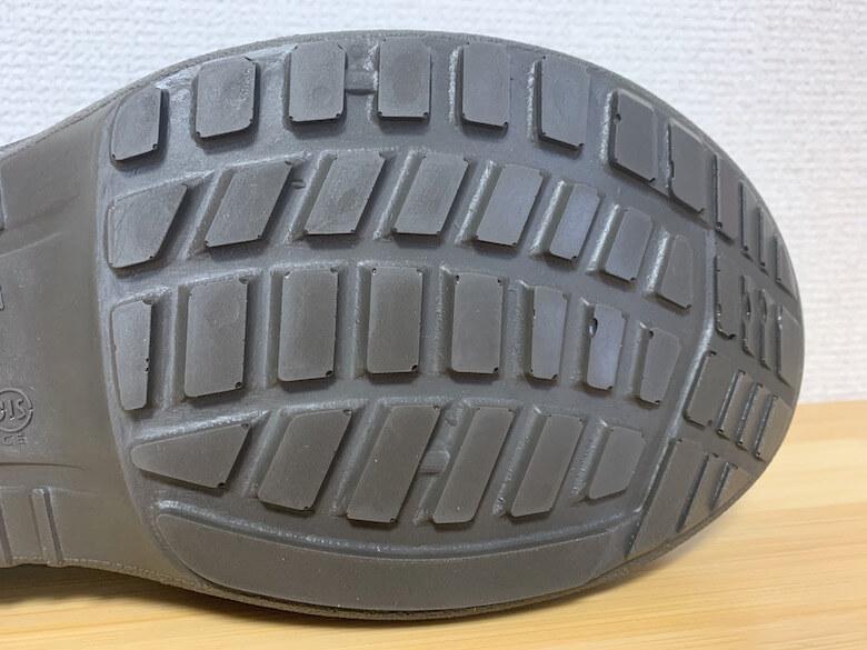 プレミアムコンフォートPRM200は耐熱の靴底で変形しにくい