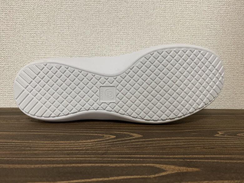 メディカルエレパスCSS-700Siの靴底は足音が少ない