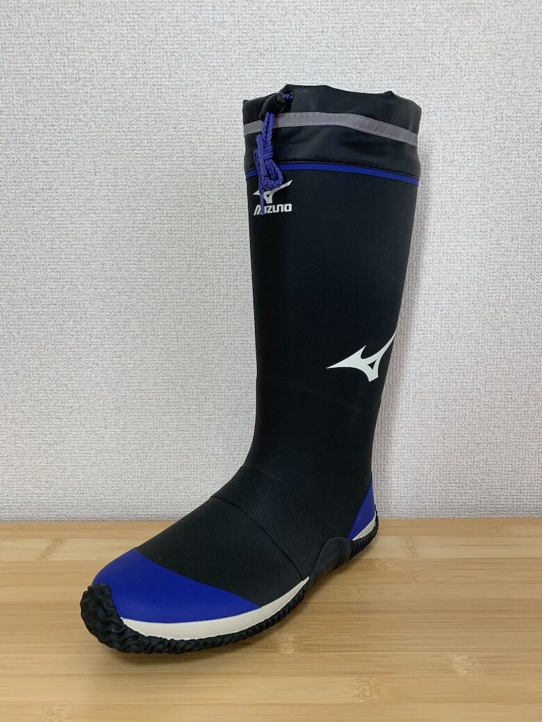 ジャスタフィットはミズノが開発した長靴