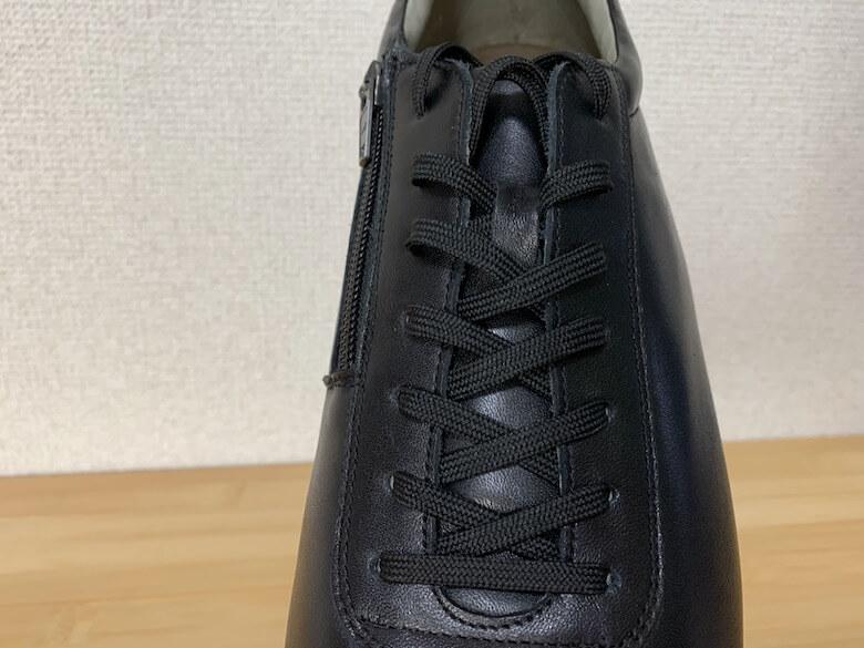 メディカルウォーク1645と2944は靴紐でサイズ調整