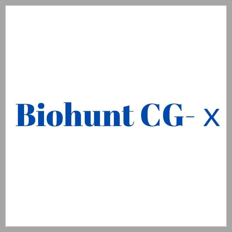 ハイドロテックBiohunt CG-x