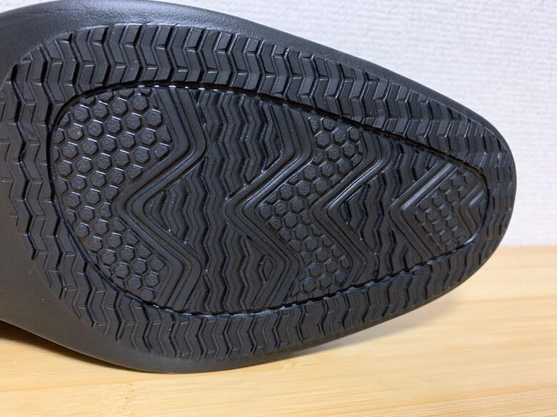 ハイドロテックウルトラライトHD1311は滑りにくい靴底でした