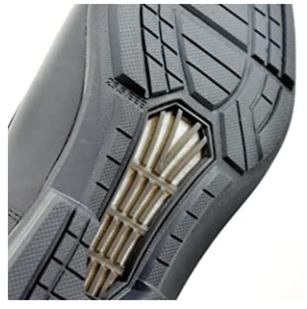 靴底から通気する構造