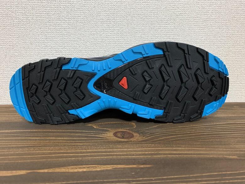 サロモンXAPRO3GTXの靴底は高機能