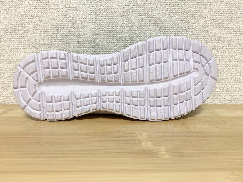 アスレシューズライトは靴底がすり減りやすい