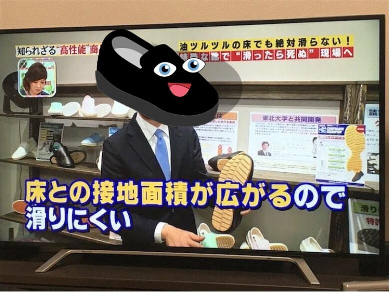 リョクシンがメディア出演時のテレビ画面