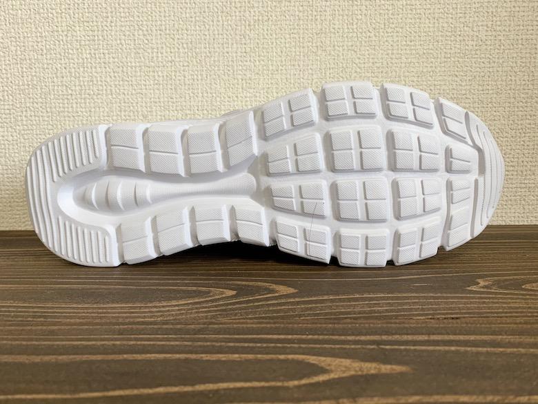 ケアセーフティCSS-95の靴底は滑りにくくはない