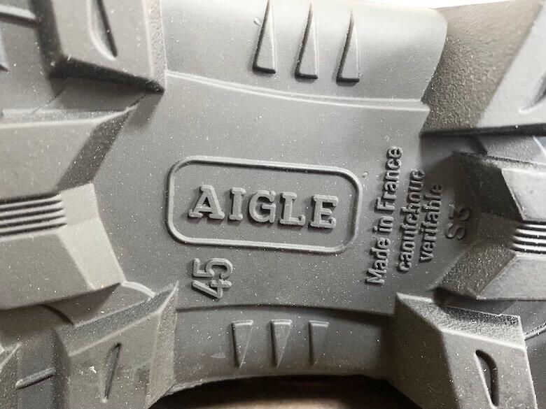 エーグルの長靴はフランス製