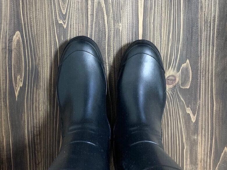 エーグルの長靴を履いてレビュー