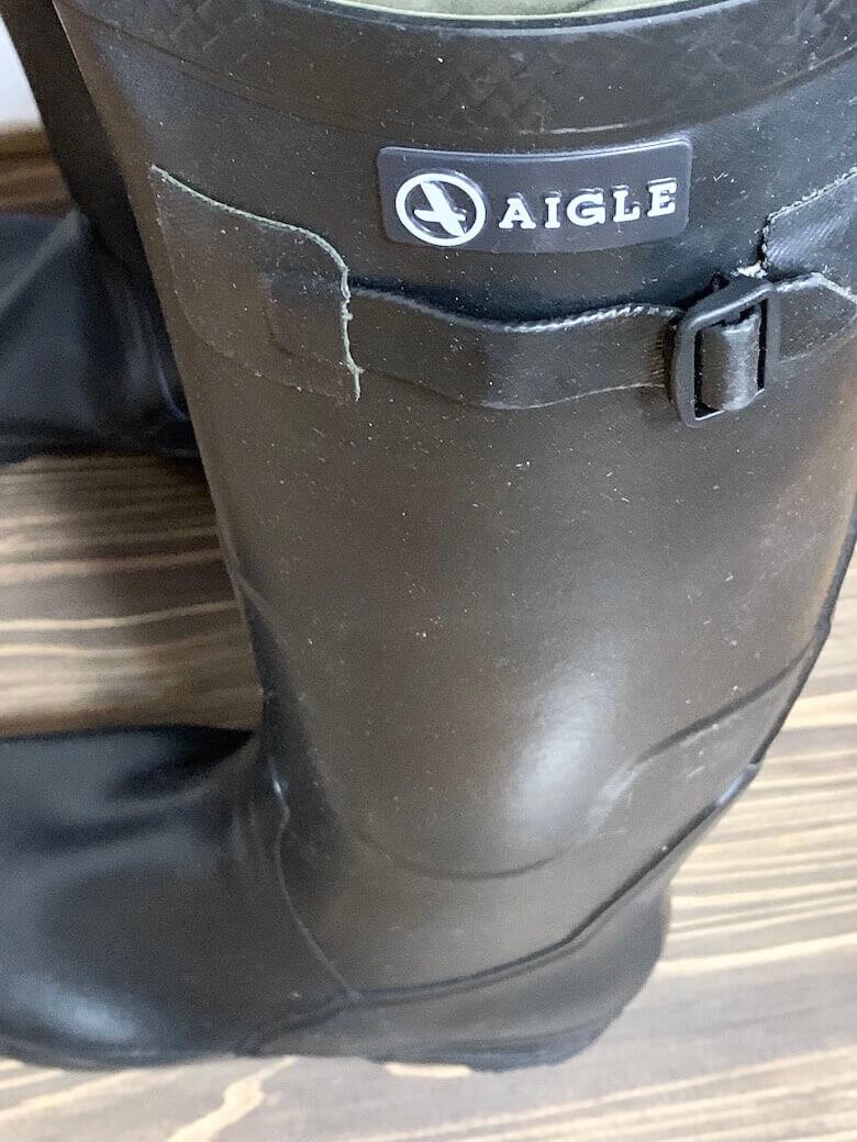 エーグルの長靴のメリットとデメリット