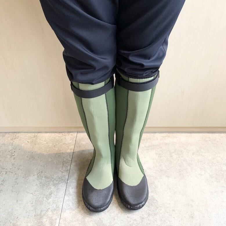 グリーンマスターとは、アトムが開発した長靴