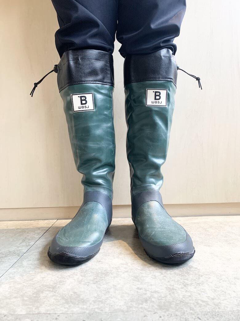 野鳥の会の長靴は日本野鳥の会が開発した長靴