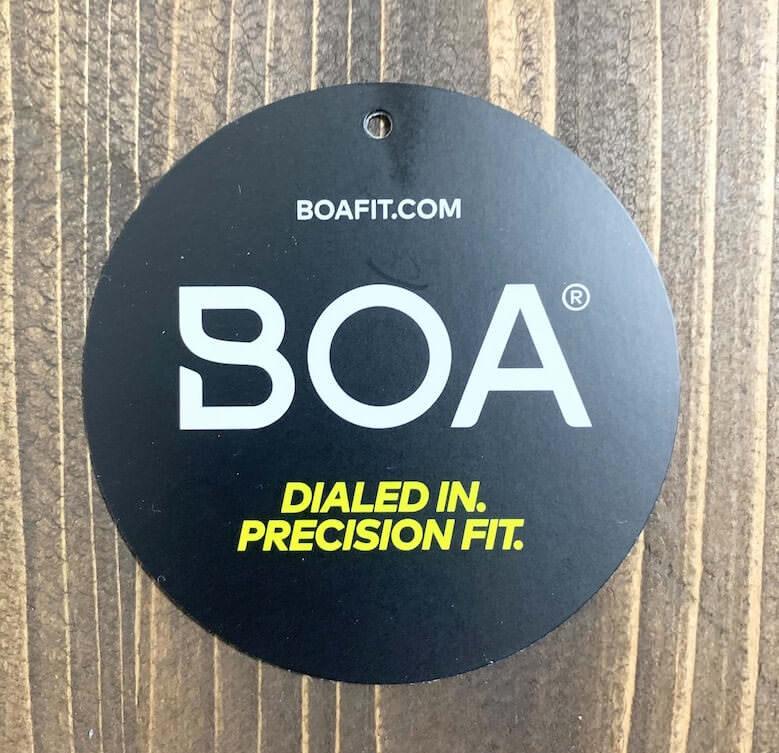 ウィンジョブCP307BOAはBOA社のダイヤル式