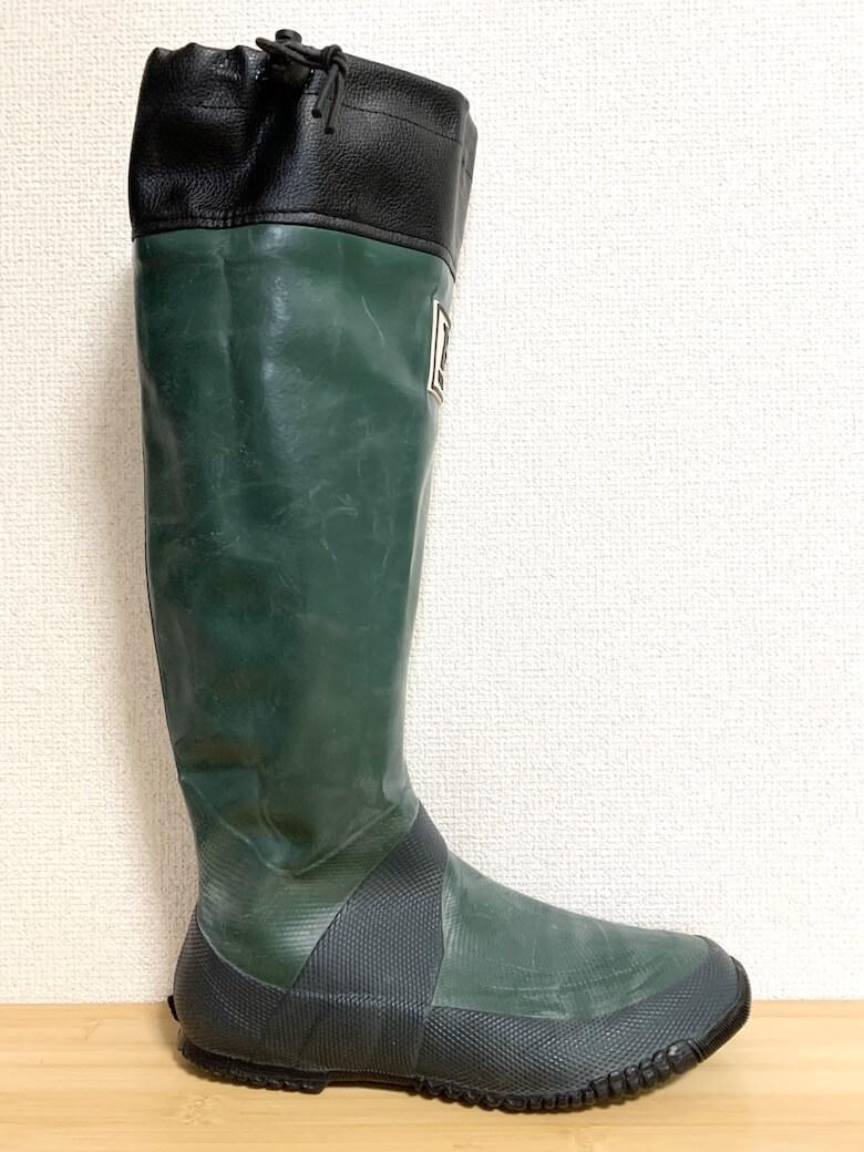 日本野鳥の会の長靴はシルエットが綺麗