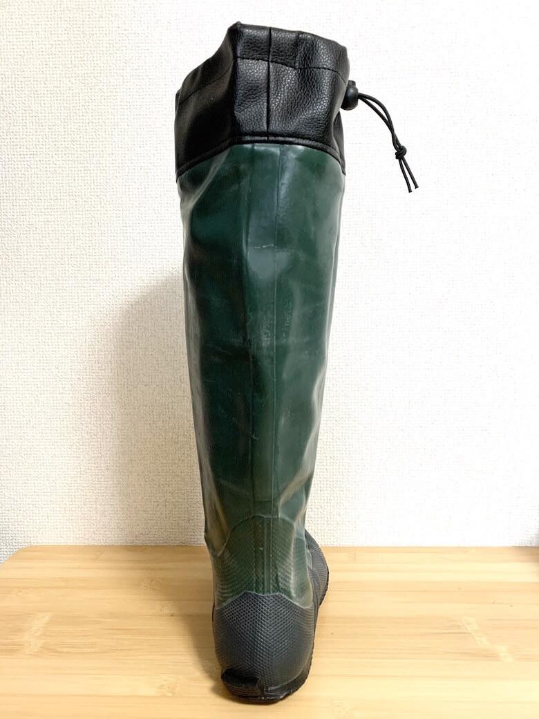 日本野鳥の会の長靴は細身