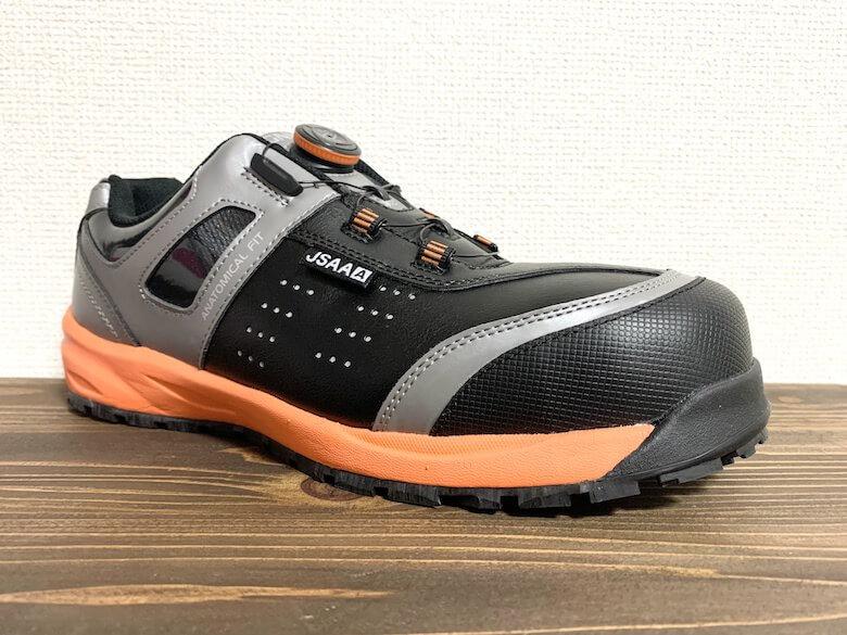 イグニオのダイヤル式安全靴をレビュー